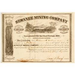 Sewanee Mining Company Stock