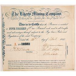 Liberty Mining Company Stock