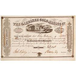 Gardiner Gold Mining Company Stock