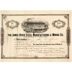 James River Steel Manufacturing & Mining Company Stock