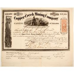 Copper Creek Mining Co. Stock