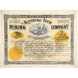 Keystone Iron Mining Stock