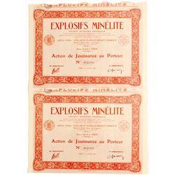 Explosifs Minelite