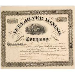 Alta Silver Mining Company Stock