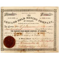 Chicago Gold Mining Company Stock