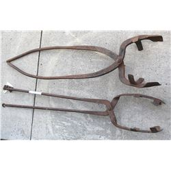 Large Assay Crucible Tongs (2)