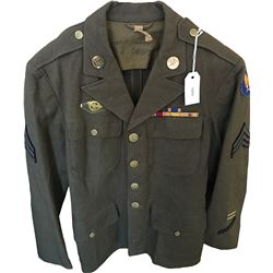 WWII U.S. Army Aviation Uniform Dress Tunic