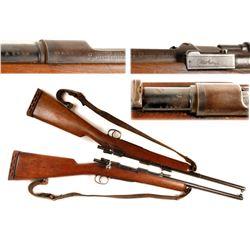 Spanish Mauser modelo 1893 sporterized