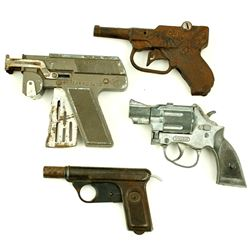 four Cap Pistols from 1930-150