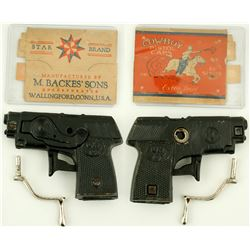 "KIlgore ""Oh Boy"" model toy cap pistol"