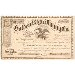Golden Eagle Mining Company Stock