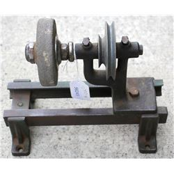 Walker-Turner bench grinder and wheel