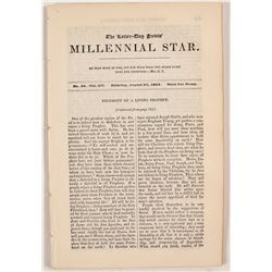 Three Issues of the Millennial Star