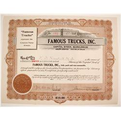 Famous Trucks Stock