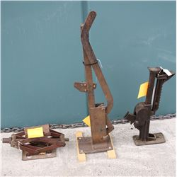 Four Automobile jacks