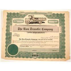 Lion Transfer Co Stock