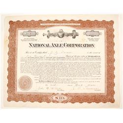 National Axle Stock