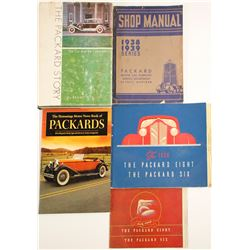 Packard 1938-39 Shop Manual and Ephemera
