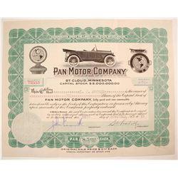 Pan Motor Car Stock