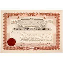 Speedway Park Assoc. Stock