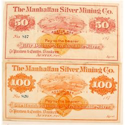 Manhattan Silver Mining Co. Scrip w RNs