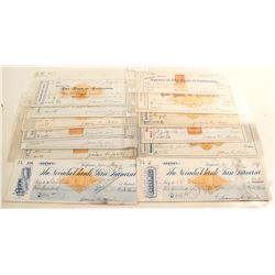 James G. Fair Autograph Check Collection