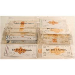 Mackay Autographed Check Collection