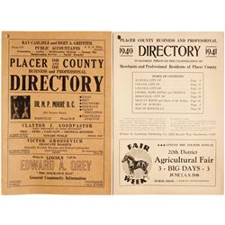 Placer County Directory