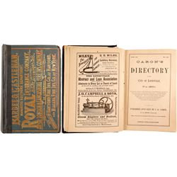 Caron's Directory of the City of Louisville for 1880