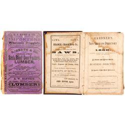 Gardener's New Orleans Directory for 1866