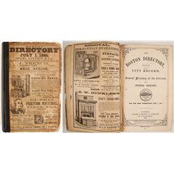 Boston Directory, 1865