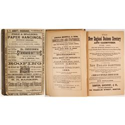 Lowell Directory, 1885
