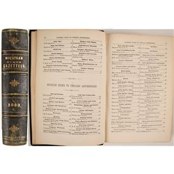 Michigan State Gazetteer and Business Directory for 1863--4