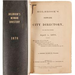 Holbrook's Newark City Directory, 1878
