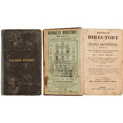 Brooklyn Directory and Yearly Advertiser for 1847-8