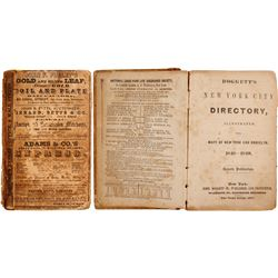 Doggett's New-York City Directory 1848-1849