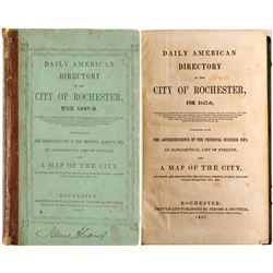 Daily American Directory of the City of Rochester for 1847-8