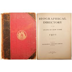 Biographical Directory of the State of New York
