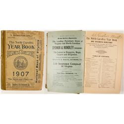 North Carolina Yearbook and Business Directory, 1907