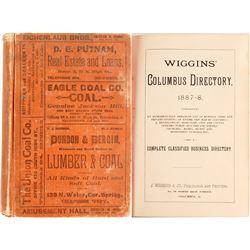 Wiggins' Columbus Directory 1887-8