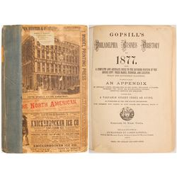 Gopsill's Philadelphia Business Directory for 1877