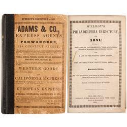 McElroy's Philadelphia Directory for 1851