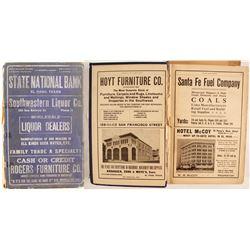 El Paso Texas Directory, 1913
