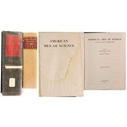 American Men of Science, 2 Volumes
