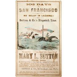Clipper Card (Original) Sutton & Co.'s San Francisco Line