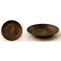 Centennial Souvenir Gold Pan