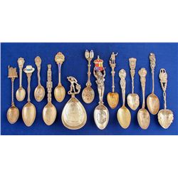 Foreign Silver Spoons (15)