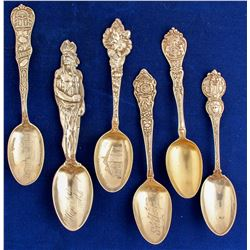 Mid America Silver Spoons (6)