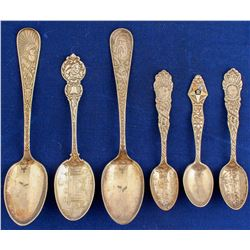 Themed Silver Spoons (6)