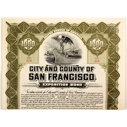 City and County of San Francisco  Bond